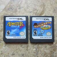 MONSTER TALE + HENRY HATSWORTH ✨Nintendo DS 3DS✨ USA Authentic Made by Peter Ong