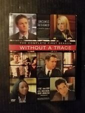 Without a Trace Complete first season FREE SHIPPING DVD boxset