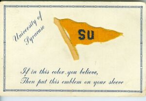 Syracuse NY  University of Syracuse Silk Pennant