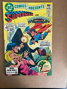 DC Comics Presents #40 Superman & Metamorpho Bronze Age DC I Combine Shipping!