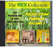 MZ 193 - Ed Podolak & His Orchestra - Polkas From Podolak Volume I - POLKA CD