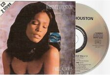 Whitney Houston I Will Always Love You CD SINGLE france french card sleeve