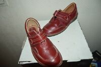 CHAUSSURE CUIR LA BOUTIQUE SOURIANTE  TAILLE 40 LEATHER SHOES/ZAPATOS/SCARPA BE