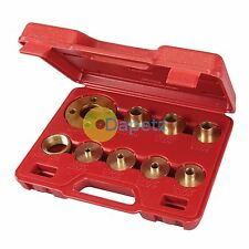 10Pce Guide Bush Set - Cutter Woodwork Joinery Router Plate