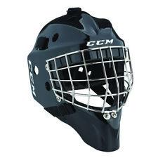 New CCM 1.5 goal Yth ice hockey goalie helmet black sz youth face mask kids size
