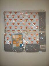 """Pottery Barn Teen College Tennessee Volunteers Throw Blanket Orange 62"""" #629"""