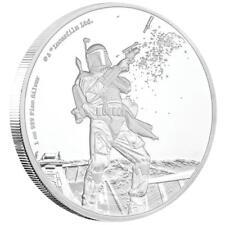 Niue 2 Dollar 2017 - Boba Fett™ - Star Wars™ Classics (10.) - 1 Oz Silber PP