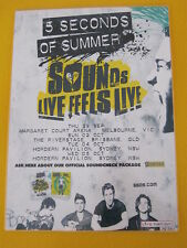 5 SECONDS OF SUMMER - 5SOS - 2016 AUSTRALIAN TOUR -  LAMINATED TOUR  POSTER