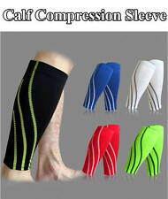 1Pair Compression Calf Sleeve Brace Leg Stockings Socks Calf Tights Shin Support