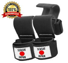 Senshi Japan Sollevamento Pesi Cinghie Di Ganci V2 Polso Sollevamento Pesi Barra