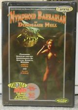 A Nymphoid Barbarian in Dinosaur Hell (DVD 1999) RARE 1990 HORROR FANTASY NEW