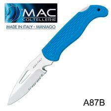 Knife Coltello Barca Nautico MAC Coltellerie A87B-B MADE IN ITALY Maniago RESCUE