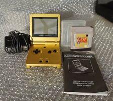 Nintendo Game Boy Advance SP Zelda Edition Gold Konsole Spielekonsole gebraucht