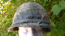 Old Relic Us Military 1960s to 1970s Vietnam War era M-1 Helmet / Used Condition