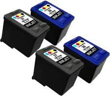 4PK Ink Cartridge For HP 28 HP28 HP27 HP 27 C8728AN C8727AN PSC 1210V 1312 1315