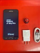 Open Box Locked TracFone Samsung Galaxy J7 Sky Pro 4G LTE Prepaid Smartphone