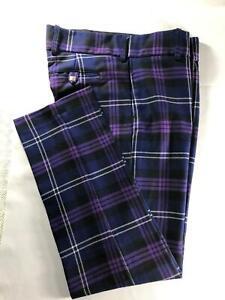 Mens 100% Wool Tartan Trews Various Tartans Brand New Made In Scotland
