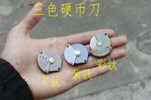 New Design TC4 titanium Handle D2 Steel Blade Mini Coin EDC Tool Knife DF140