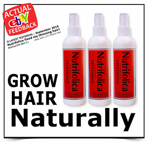 *NEW*  NUTRIFOLICA ® 6 month GROW REGROW LOSS TREATMENT - guaranteed regrowth