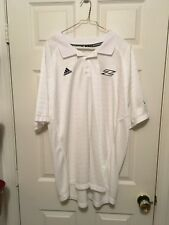 Adidas Akron football Team Short Sleeve Shirt  - Golf Shirt - 2XL - Zips
