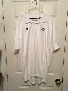 Adidas Akron football Team Short Sleeve Shirt  - Golf Shirt - 2XL - Zips