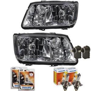 Headlight Set For VW Bora Type 1J Year 10.98 -