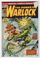 Warlock #8 (Oct 1973, Marvel) Mike Friedrich Bob Brown X
