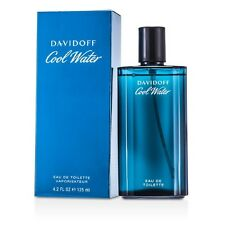 NEW Davidoff Cool Water EDT Natural Spray 4.2oz Mens Men's Perfume