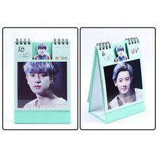 KPOP EXO 2018 Desk Calendar Mini Picture Photo Album Gift CHANYEOL