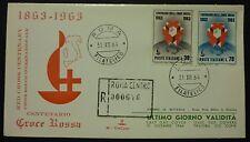 LAST DAY COVER - U.P.U. 1964 - NUMERATA 52/200 RACC.