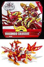 NEW - Bakugan DRAGONOID COLOSSUS Deluxe - 5 Exclusive - Gundalian BATTLE GEAR