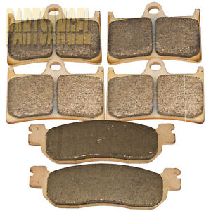 Front Rear Sintered Brake Pads For Yamaha R1 YZFR1 YZF-R1 2002 2003