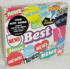 NEWS Best Taiwan Ltd 2-CD+28P Booklet 「UNRELEASED BEST」