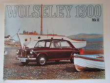 WOLSELEY 1300 MK.II SALOON orig 1969 UK Mkt Sales Brochure - #2586/B