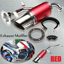 Performance Exhaust System Silencer For GY6 49cc/125/150/200cc 4 Stroke Scooter