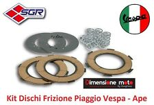 """037 - Kit Dischi Frizione + Molle """"SGR"""" per Piaggio Ape 150 AC4T dal 1962 - 1967"""