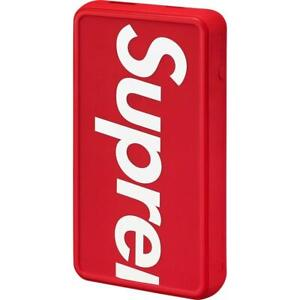 Supreme®/mophie® powerstation Plus XL Red SS21 *In Hand* Un-Opened