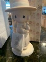 """Precious Moments """"Seek And Ye Shall Find"""" 1985 Charter Member MIB E-0105"""