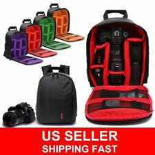 Waterproof Digital Camera Shoulder Bag Sling Backpack for Canon Nikon Sony DSLR