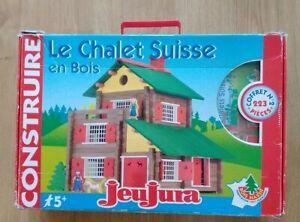 Jeujura le chalet suisse en bois coffret n°2  réf 8046 (223 pièces )