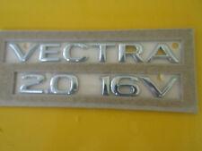 Schriftzug Emblem VECTRA 2.0 16V chrom Vectra B ORIGINAL OPEL 5177187