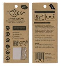 Foogy Antibeschlagtuch Mikrofaser Brille Kameralinse Helmvisiere Skihelme