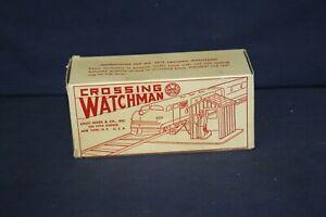 Marx 0218 Crossing Watchman EXC++++ w/OB