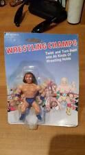 LJN Remco Popy MOC WWF Generic Andre The Giant Wrestling Champs Hulk Hogan