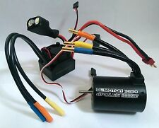 1/10 RC Car Buggy 4P 3650 Sensorless BRUSHLESS 5200KV Motor & 60A ESC Combo Set