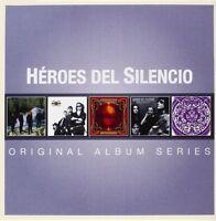 HEROES DEL SILENCIO - ORIGINAL ALBUM SERIES 5 CD NEU