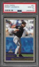 2000 Topps Baseball # 51 RANDY JOHNSON Gem Mint PSA 10 Arizona Diamondbacks