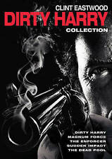 5 Film Collection: Dirty Harry (DVD, 2015, 5-Disc Set) Clint Eastwood NEW