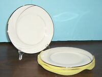 """LOT OF 6 NORITAKE STERLING TIDE BREAD PLATES 6 3/8"""" NEVER USED FREE U S SHIPPING"""