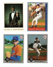 Baseball Promo Card Lot!  4 Different!  Griffey, Jr. & More!